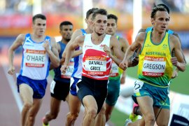 Charlie Grice at Commonwealth Games Gold Coast
